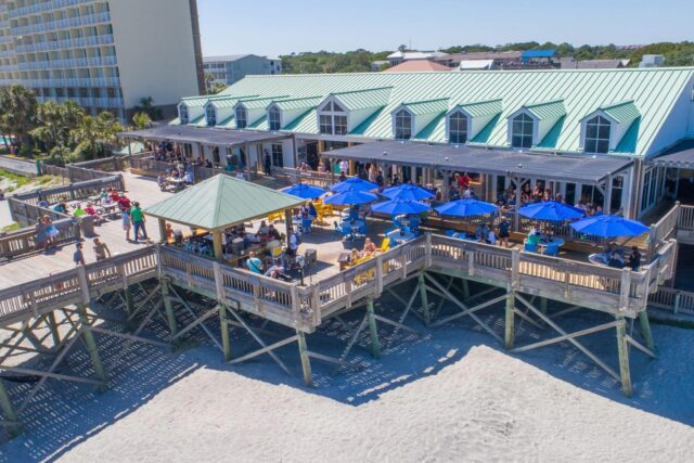 avocet-hospitality-pier-101-folly-beach-aerial-shot
